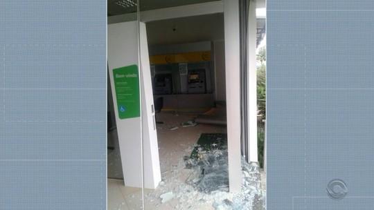 Criminosos atacam bancos em Lagoão e Porto Alegre