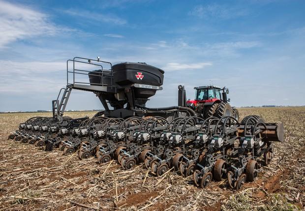 Plantadora dobrável Momentum, desenvolvida no país, é um dos novos produtos que chegarão ao mercado brasileiro até o ano que vem (Foto: Divulgação/Nilson Konrad)