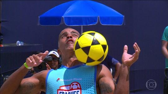 Felipe e Robrigo ET conquistam o Craques do Futebol de Areia