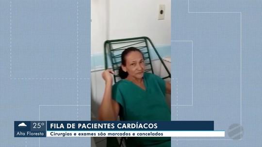 Pacientes com problemas cardíacos aguardam por procedimentos pelo SUS