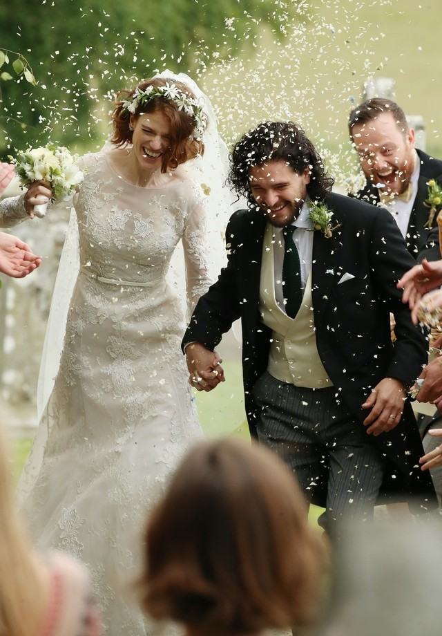Kit Harington e Rose Leslie (Foto: AKM/GSI)