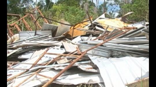 Estrutura abandonada em canteiro de obras de Belo Monte preocupa moradores no sudoeste do Pará