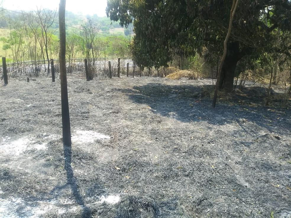 Defesa Civil alerta para riscos de incêndios em Osvaldo Cruz — Foto: Prefeitura