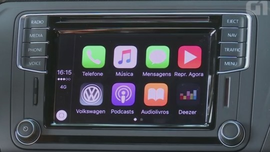 Volkswagen Saveiro: G1 avalia central multimídia