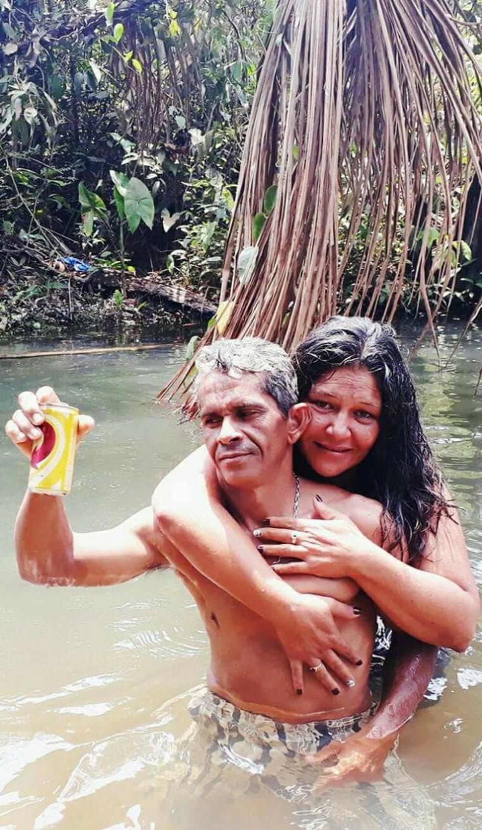 José da Guia Conceição da Silva e Raquel Alves Fonseca morreram no acidente (Foto: Divulgação)