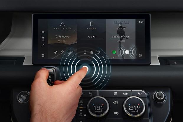 Jaguar Land Rover desenvolve tela multimídia que não precisa tocar para usar (Foto: Divulgação)