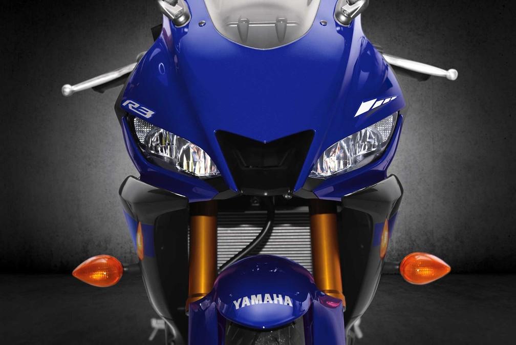 Yamaha YZF-R3 — Foto: Yamaha/Divulgação