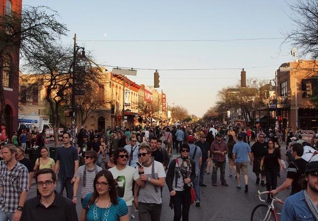 South by Southwest (SXSW), maior evento de tecnologia e economia criativa do mundo (Foto: Reprodução/WikimediaCommons)