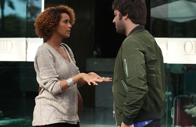 Taís Araújo engravidou do 2º filho no meio de 'Geração Brasil' este ano (Foto: TV Globo)
