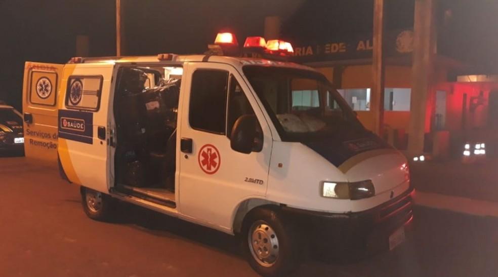 Agentes da PRF abordaram suspeitos em posto da fiscalização de MS — Foto: PRF/Divulgação