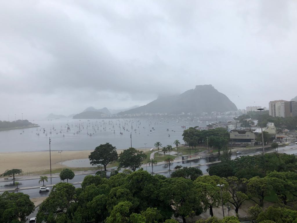 Fim de semana no Rio será de chuva e temperaturas em queda