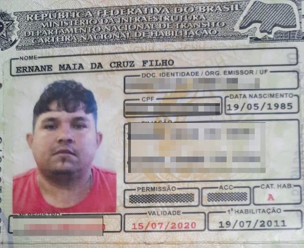 Ernane Maia da Cruz Filho tinha 36 anos de idade — Foto: Sérgio Henrique Santos/Inter TV