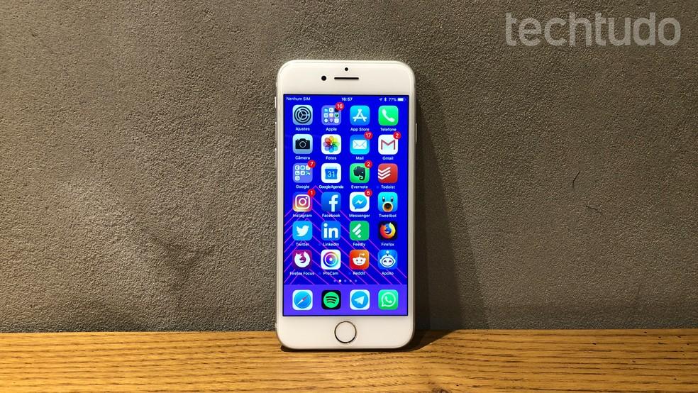 14f52845023 ... iPhone 8: tela de 4,7 polegadas tem resolução de 1334 x 750 pixels