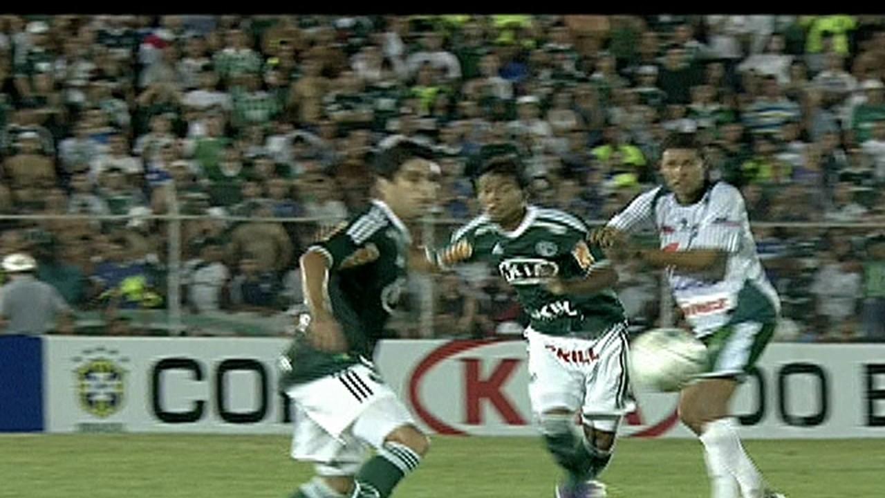 Palmeiras 3 x 0 Coruripe-AL (1ª fase)