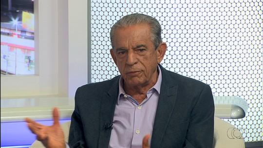 Iris Rezende é entrevistado pelo Jornal Anhanguera 2ª Edição