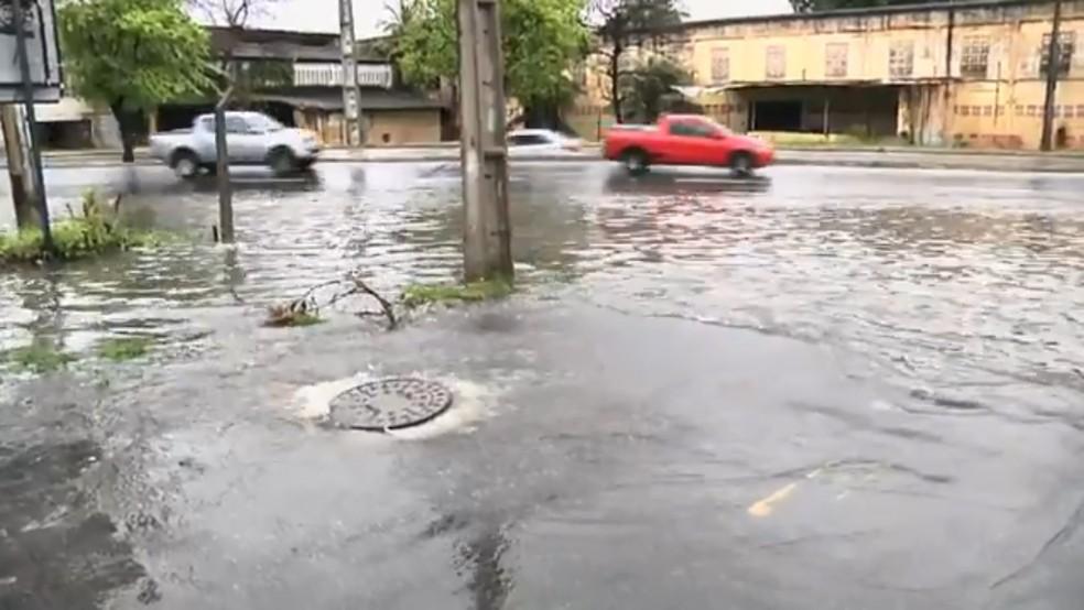 Ceará tem nono dia seguido com chuva em mais da metade dos municípios (Foto: TV Verdes Mares/Reprodução)