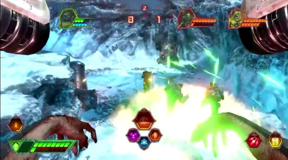Battle Mode é a o modo multiplayer de Doom Eternal — Foto: Reprodução/Bethesda