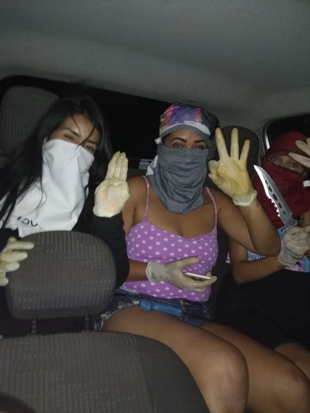 Mulheres integrantes de facção filmam execução de jovem em Boa Vista