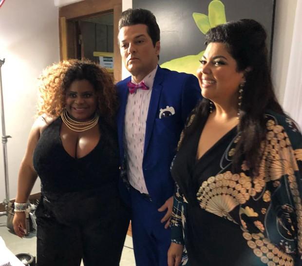 Jojô Toddynho, Marcello Serrado e Fabiana Karla (Foto: Divulgação)