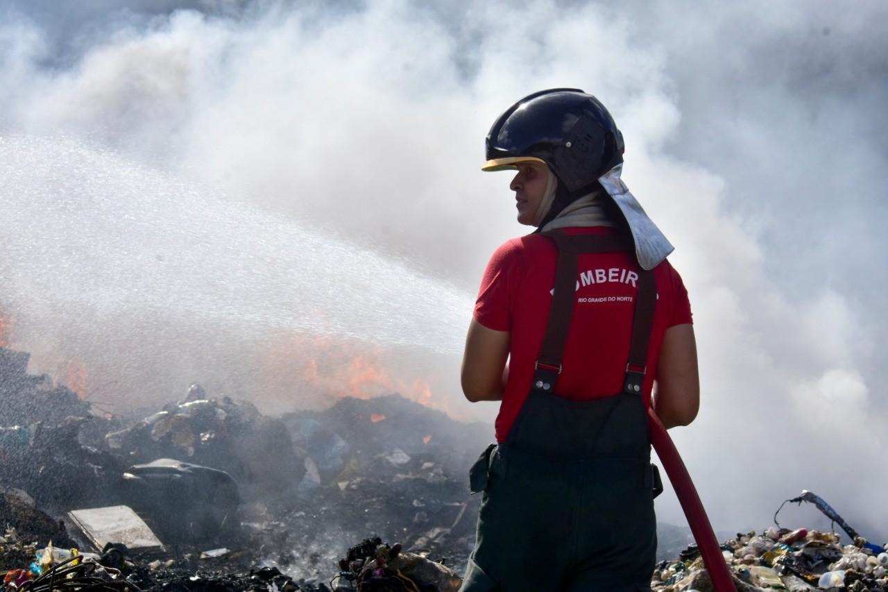 Incêndios aumentam 128% no primeiro trimestre de 2021 no RN, diz Corpo de Bombeiros