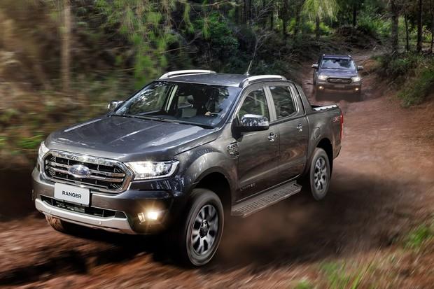 Ford Ranger 2020 (Foto: Divulgação)