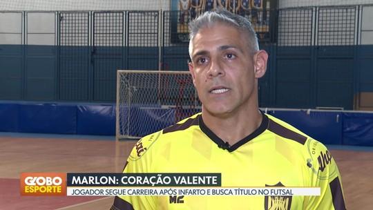 Marlon Coração Valente: jogador segue carreira após infarto e busca sexto título da Copa Brasília