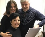 Alessandra Maestrini, Mirna Rubim e Miguel Falabella | Arquivo pessoal