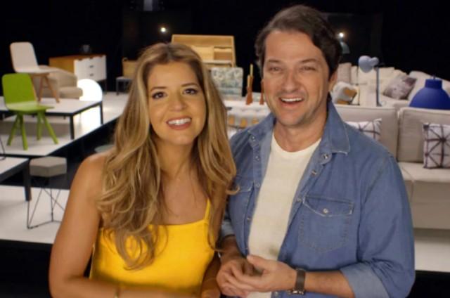 Mariana Santos e Marcelo Serrado (Foto: Divulgação)