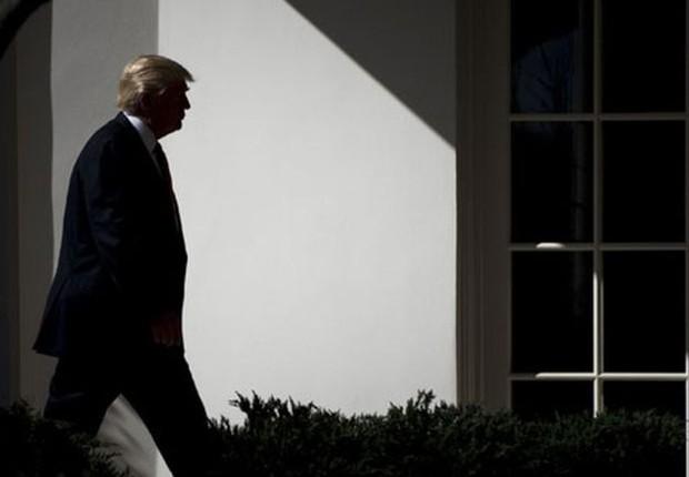 Trump não é o primeiro presidente a ter sua saúde mental questionada (Foto: Getty Images via BBC News Brasil)