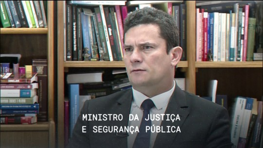 Central GloboNews recebe o ministro Sérgio Moro