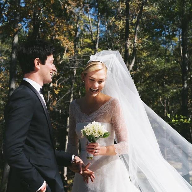 Karlie Kloss e Joshua Kushner se casam em Nova York (Foto: Instagram Karlie Kloss/ Reprodução)