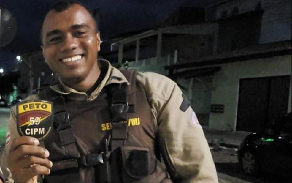 Policial militar é baleado durante ronda e morre em Arembepe  — Foto: Reprodução/Redes Sociais
