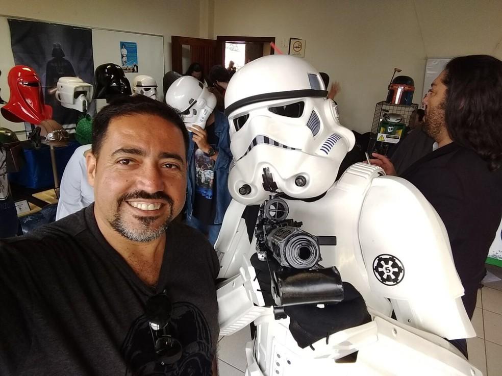 Evento espera reunir dois mil fãs de Star Wars em Atibaia, SP  (Foto: Alessandra Nascimento/Arquivo pessoal)