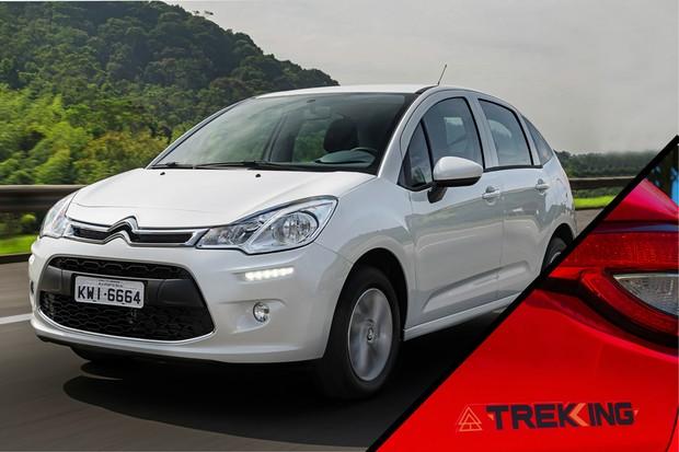 Citroën C3 Trekking (Foto:  Montagem/Autoesporte)