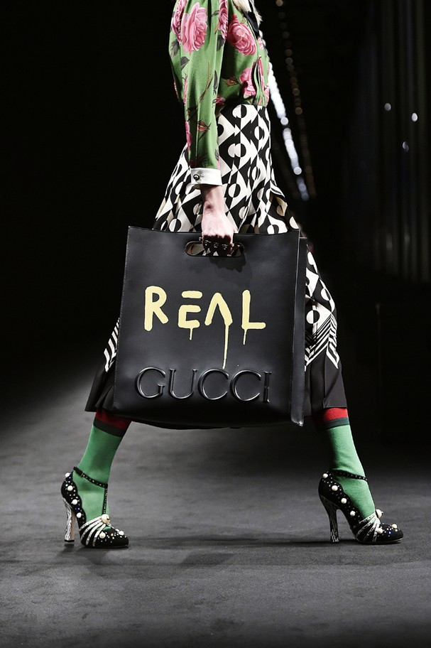 Gucci Inverno 2017 (Foto: Getty Images )