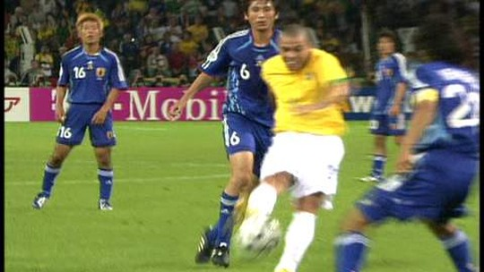 Você lembra? Há 12 anos, Juninho Pernambucano marcava na Copa do Mundo