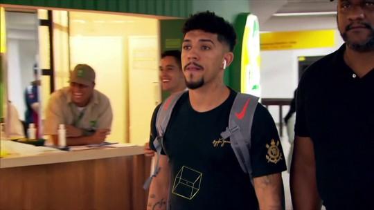 Corinthians volta a São Paulo sob proteção de 13 seguranças e nenhum protesto