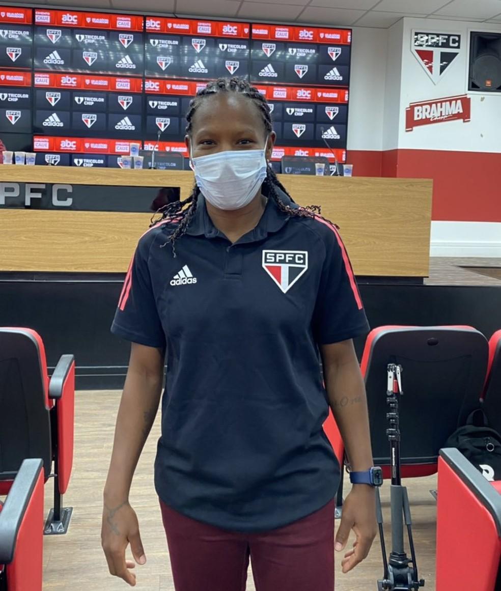 Formiga ainda não defenderá o São Paulo nesta quinta-feira — Foto: Divulgação