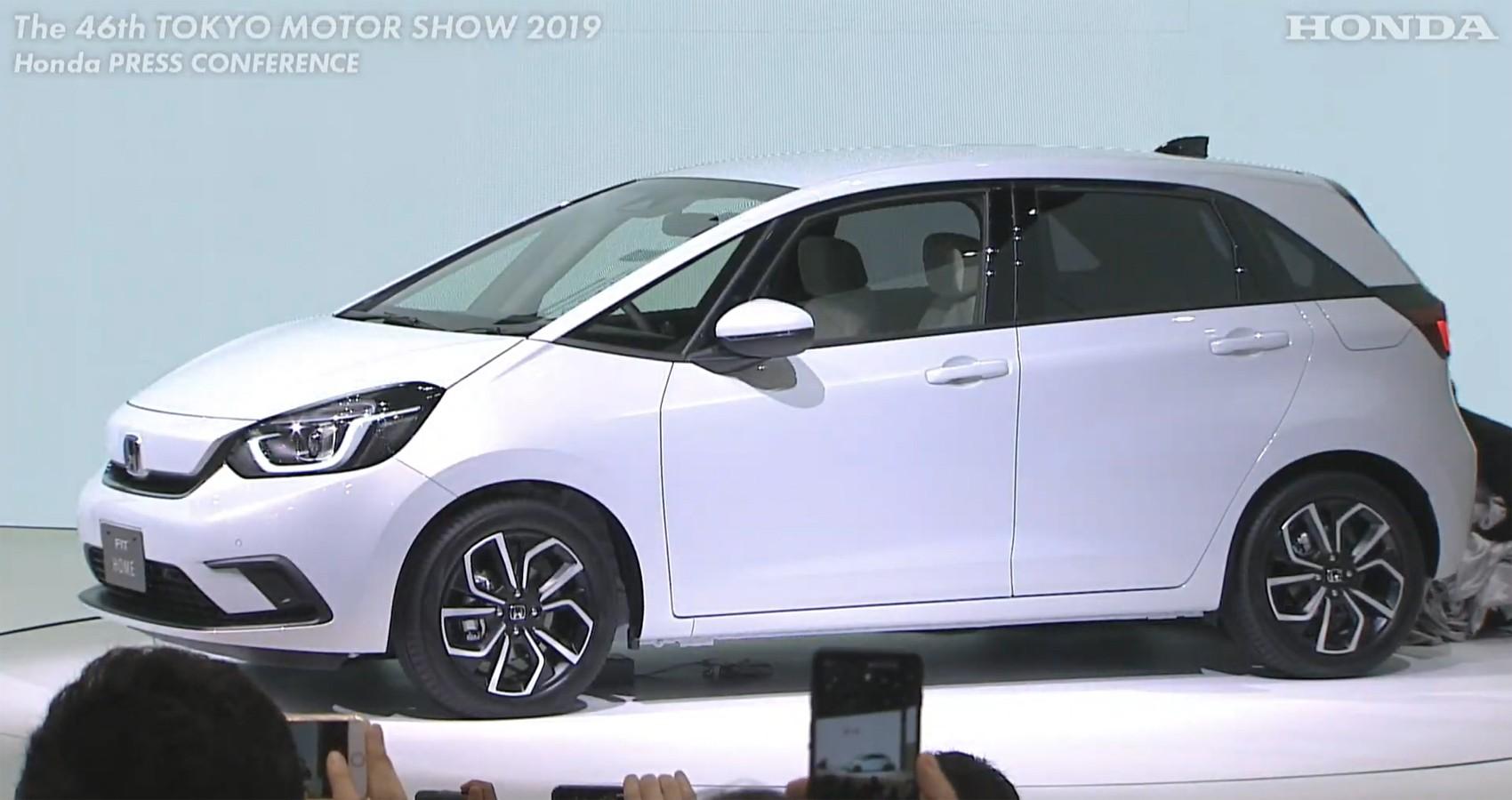 Honda revela o novo Fit - Notícias - Plantão Diário