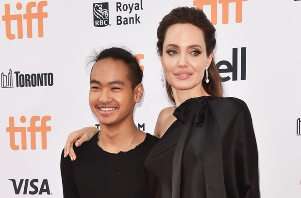 Angelina Jolie e Maddox (Foto: Getty Images)