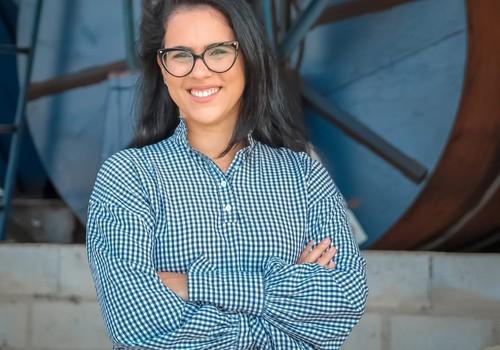 Tatiele Dalfior, produtora de café conilon no Espírito Santos (Foto: Acervo pessoal)