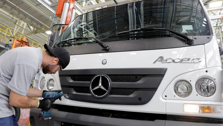 empresas-caminhoes-mercedes (Foto: Reuters)