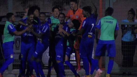 Os gols de São Caetano 2 x 1 Santos pela Copa SP de futebol júnior