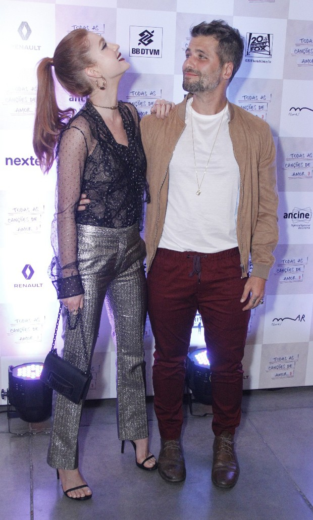 Marina Ruy Barbosa e Bruno Gagliasso (Foto: Wallace Barbosa/AgNews)