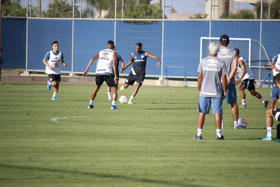 Jean Pyerre, Grêmio — Foto: Lucas Bubols/GloboEsporte.com