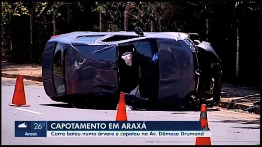 Acidentes de trânsito são registrados em Araxá e Serra do Salitre