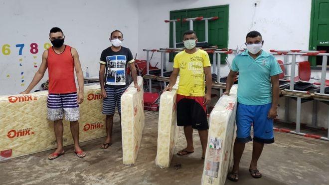 Os trabalhadores rurais que se isolaram para proteger cidade do Piauí do coronavírus