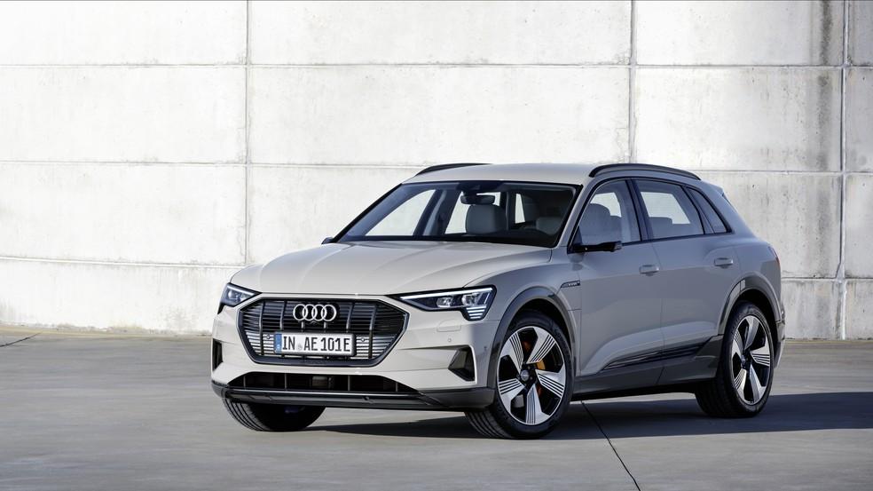 Audi E-Tron, primeiro veículo 100% elétrico da montadora — Foto: Audi/Divulgação