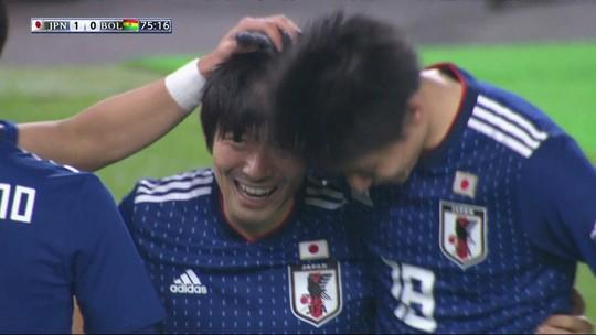Japão vence Bolívia antes de testes finais para a Copa América