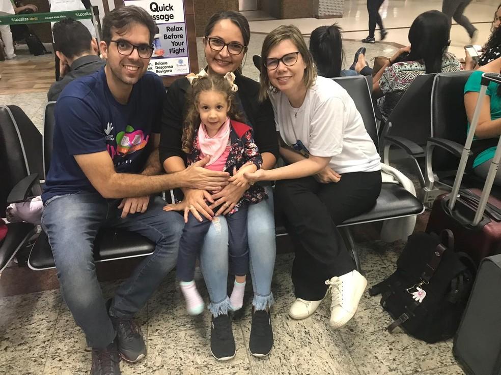 Catarina Maria é a primeira criança diagnóstica com Zika Congênita no mundo — Foto: Maria da Conceição/ Arquivo pessoal